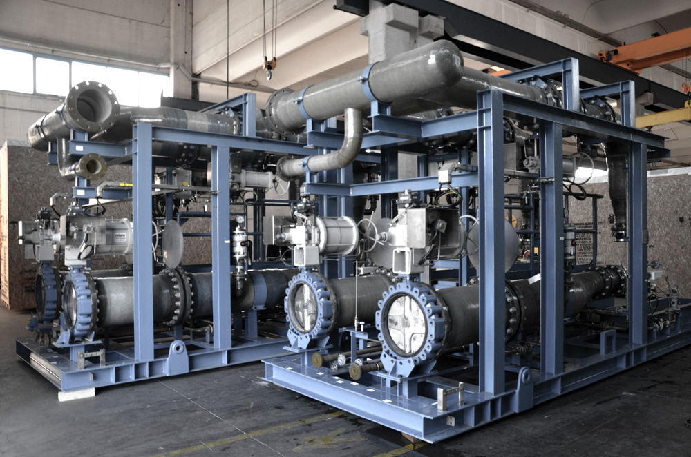 CREATION OF SKID SYSTEMS IN MIXED STEEL/COMPOSITE FOR SAUDI ARAMCO